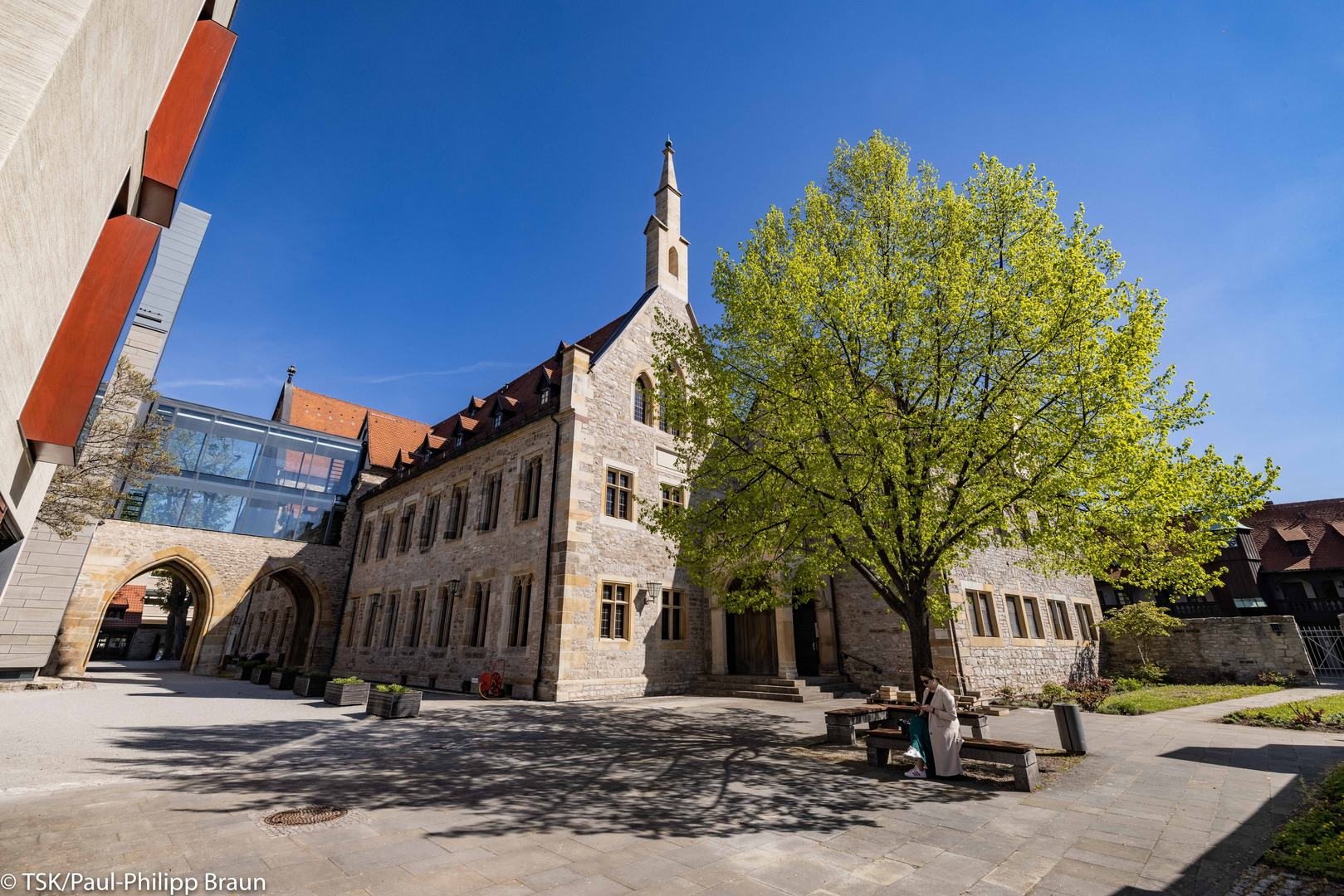 Erfurter Stadtansicht