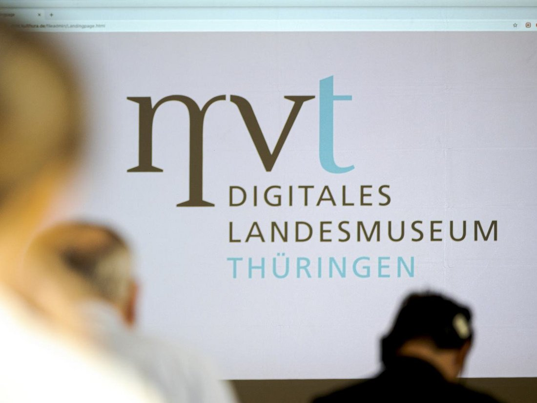 Screen des Digitalen Landesmuseum