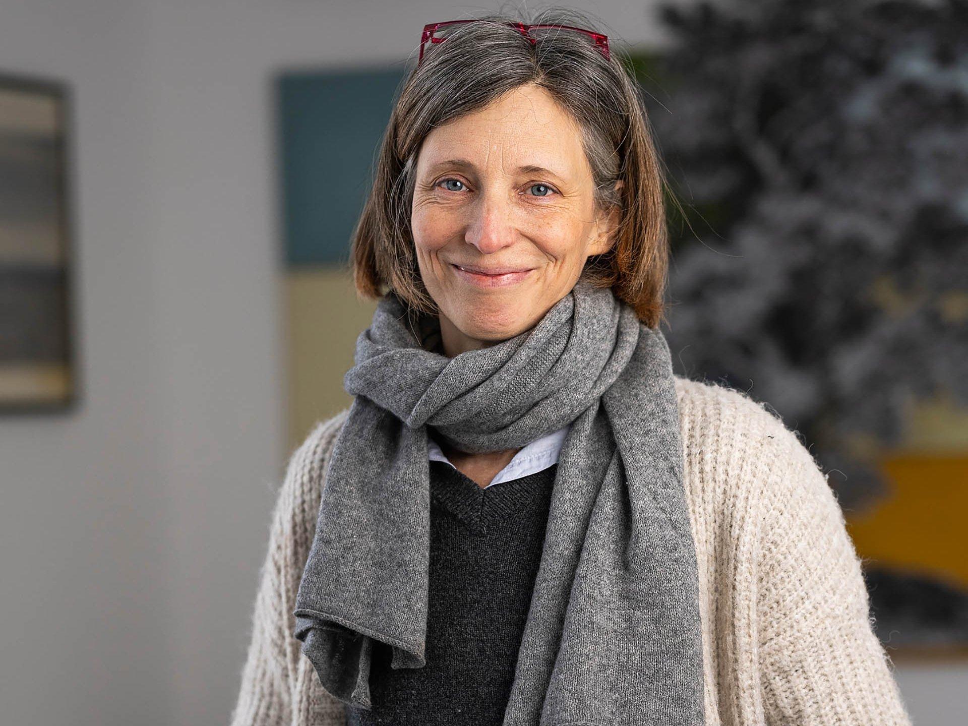 Porträt der Künstlerin Sophie von Hayek