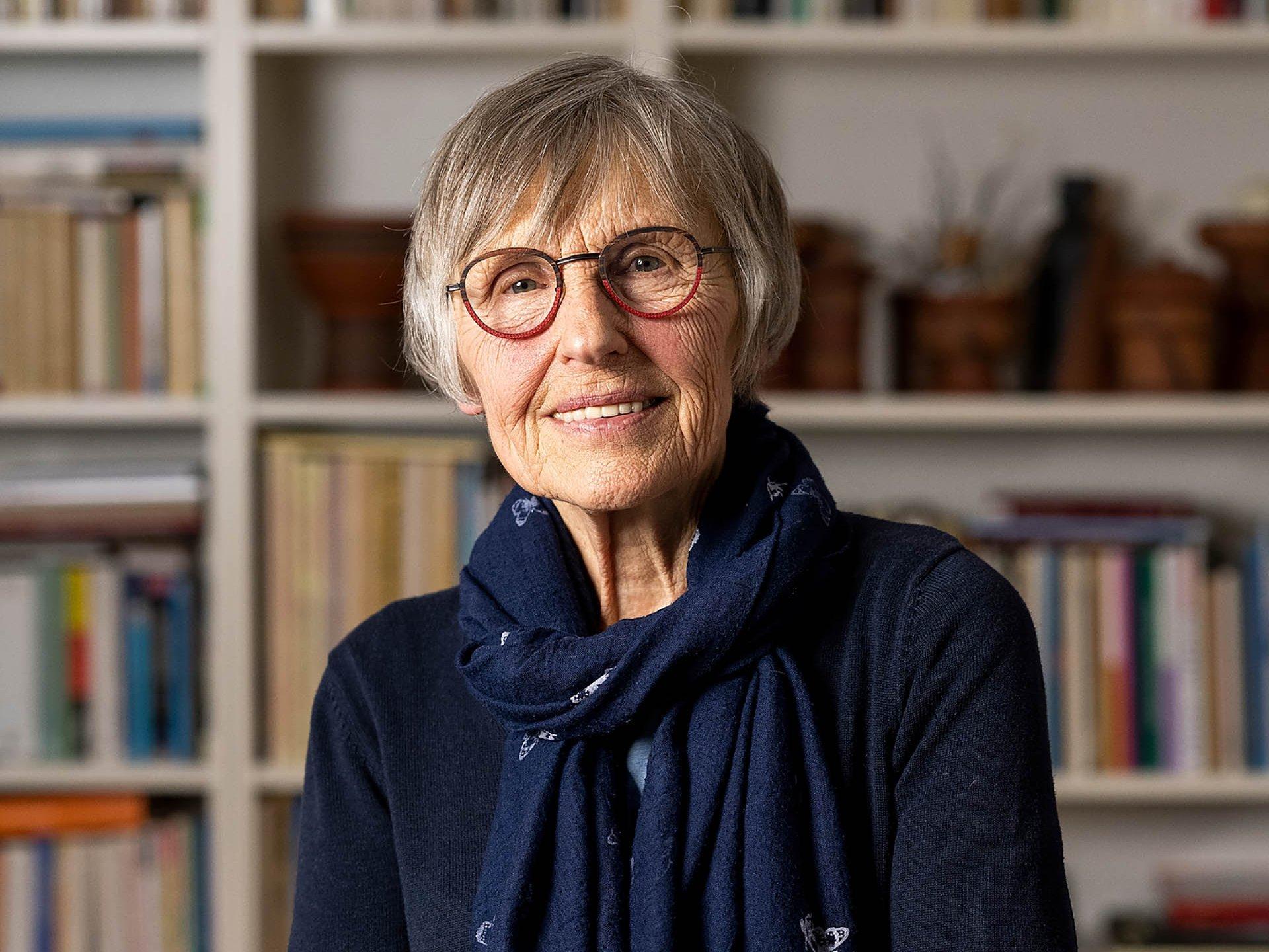 Porträt der Malerin Eva Bruszis