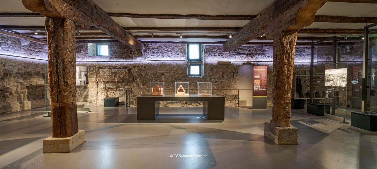 Ausstellungsansicht, Die Alte Synagoge in Erfurt