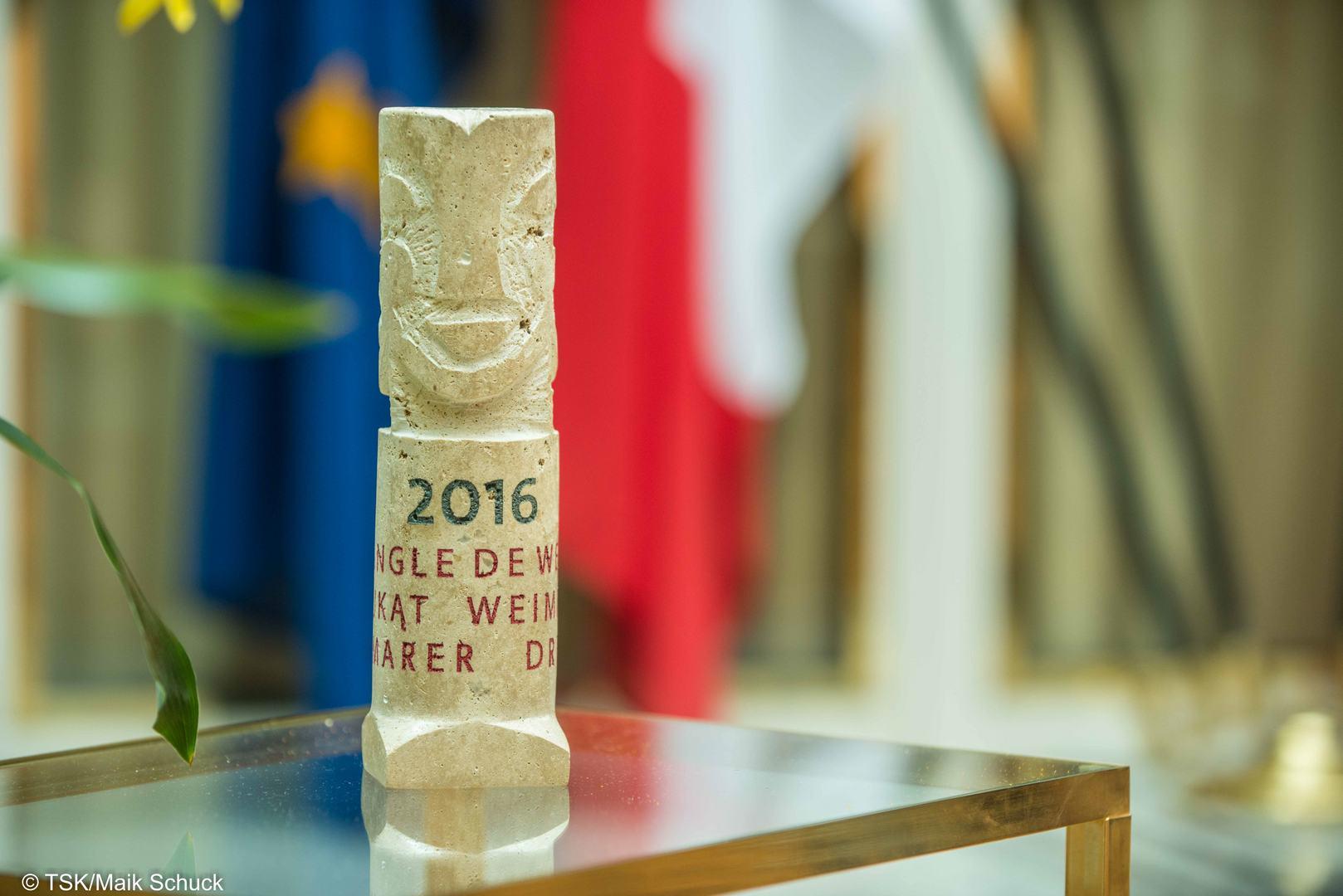 Weimarer-Dreieck-Preis für zivilgesellschaftliches Engagement in Weimar